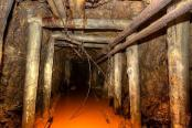 Gold mine in Zlate Hory
